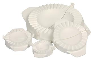 Moulds for turnovers, raviolis… 4 sizes