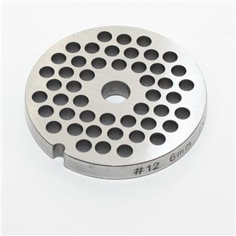 6 mm stainless steel plate for n°12 grinder
