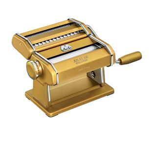 Gold coloured Marcato pasta-making machine