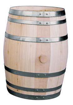 Chestnut barrel 28 litres