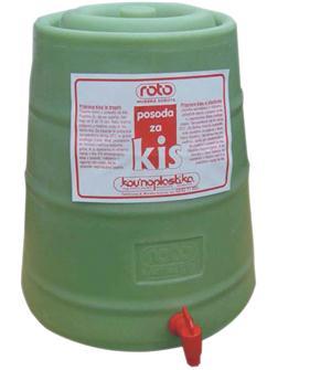 Plastic vinegar maker 25 litres
