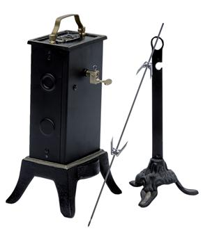 Single motor electric spit - 8 kg