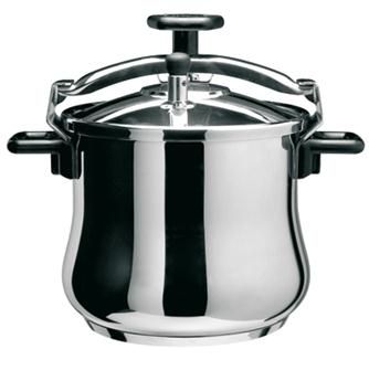 Stainless steel screw pressure cooker 4.5 litres