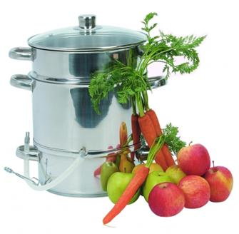 Steam juicer 28 cm for induction hob