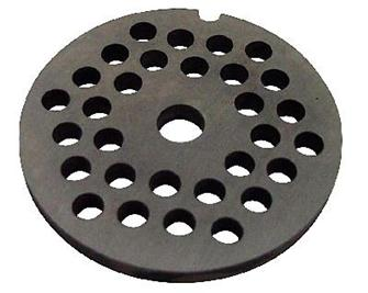 3 mm plate for N° 5 type meat grinder