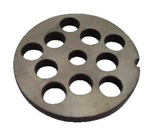 12 mm plate for N° 5 type meat grinder