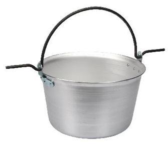 Aluminium cauldron 30 litres