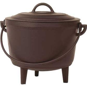 Cast iron cauldron 10 litres