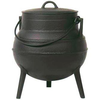 Cast iron cauldron 40 litres