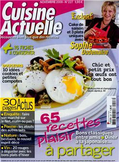 Cuisine actuelle n°227 (Cooking trends n°227)