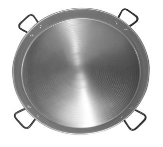 Professional series Paella pan 90 cm