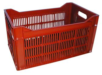 Stackable lattice crate 34 litres