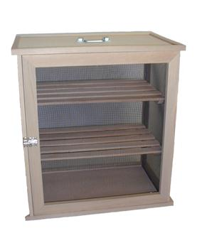 Very large food safe with 2 racks