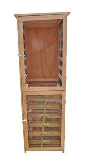 Tall fruit and vegetable storage cabinet 12 levels