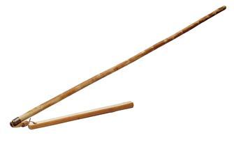 Chestnut wood flail