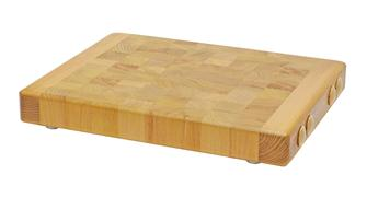 Professional wooden standing wood chopping board 49.5x39.5 cm