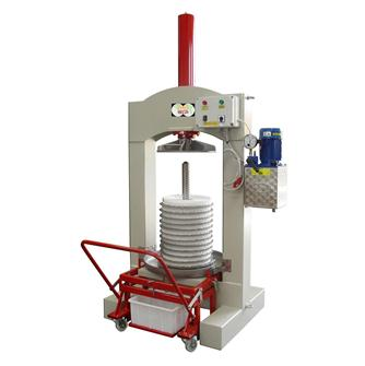 Hydraulic electric olive press 60 kg/hour