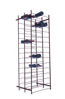 Double 150 bottle wine rack