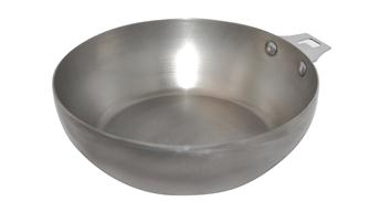 Paysanne style pan - 24 cm - with no handle and beeswax coating