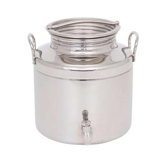 Stainless steel oil can - 5 litres