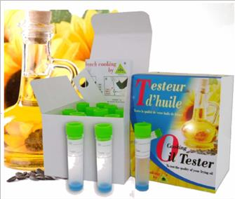 Frying oil tester