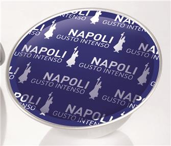 Box of 16 Bialetti Napoli coffee capsules