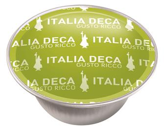 Box of 16 Bialetti Italia Deca coffee capsules