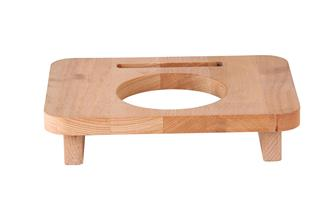 Wooden stand 10 cm