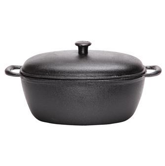 Cast iron casserole dish 32x22 cm
