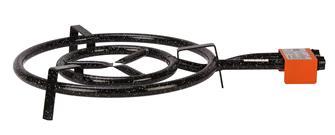 Paella gas burner 40 cm
