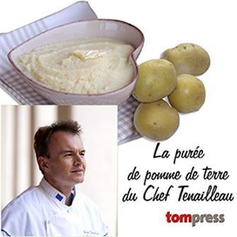 Good pureed potatoes by Chef Tenailleau
