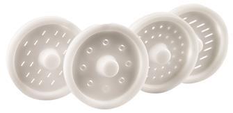 Pasta maker accessory for Swedish food processor