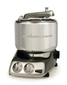 Swedish multi-purpose food processor - chrome black