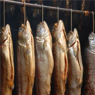 Recipe for preparing smoked trout