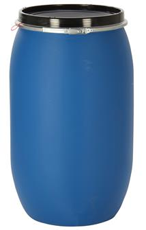 Watertight food barrel - 220 litres