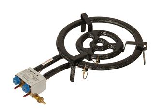 Professional paella burner 40 cm with thermocouples