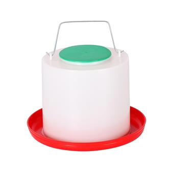 Plastic 15 litre drinker for poultry