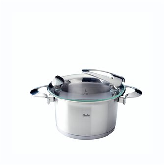 Stainless steel cooking pot diameter 16 cm