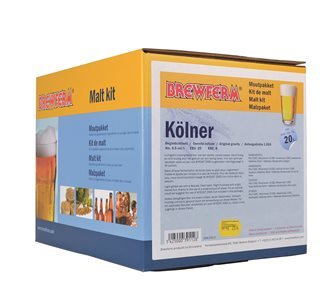 Kit malt kölner for 20 liters of beer