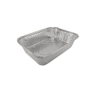 100 aluminium containers - 2 kg