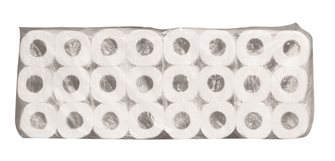 Pack of 108 rolls of toilet paper