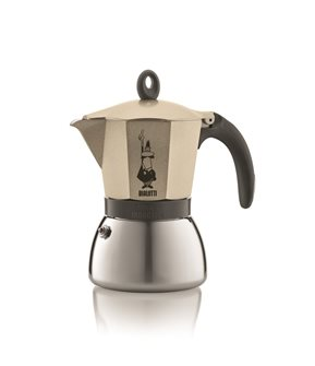 Italian induction coffee maker - 3 cups