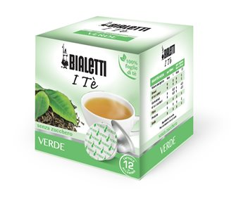 Box of 12 capsules Bialetti Green tea