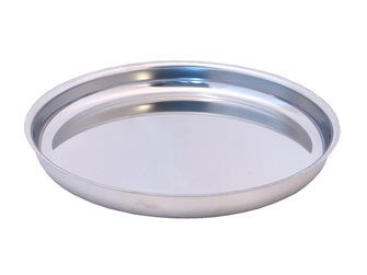 Seafood platter stainless steel round diameter 36 cm