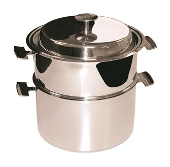 Baumstal induction stainless steel cooking set 20 cm