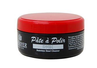 Paste for polishing stainless steel