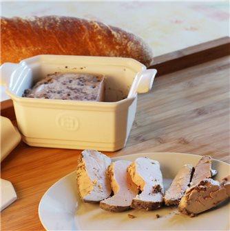 Recipe of foie gras in simple and tasty terrine