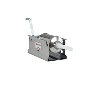 Tom Press horizontal stainless steel 3-liter meat pusher by Reber