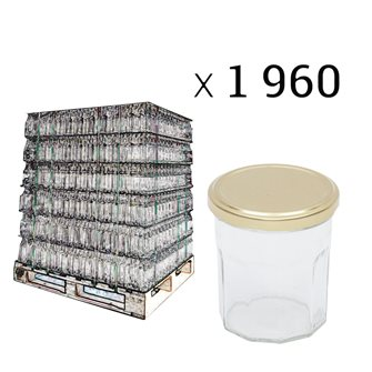 Pallets of jam pots 370g by 1960 pieces