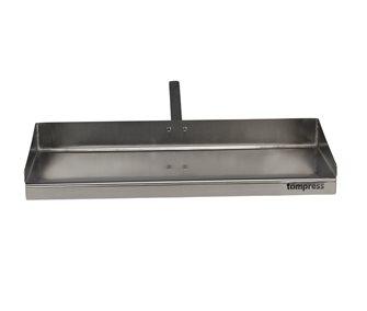 Stainless steel drip pan 75 cm
